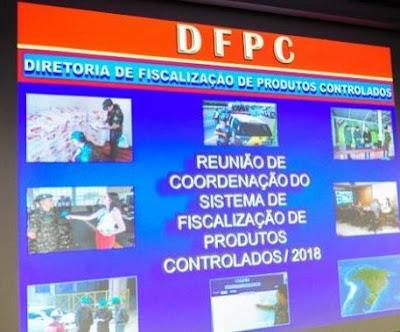 Com foco no apoio à Segurança Pública, Sistema de Fiscalização de Produtos Controlados define prioridades