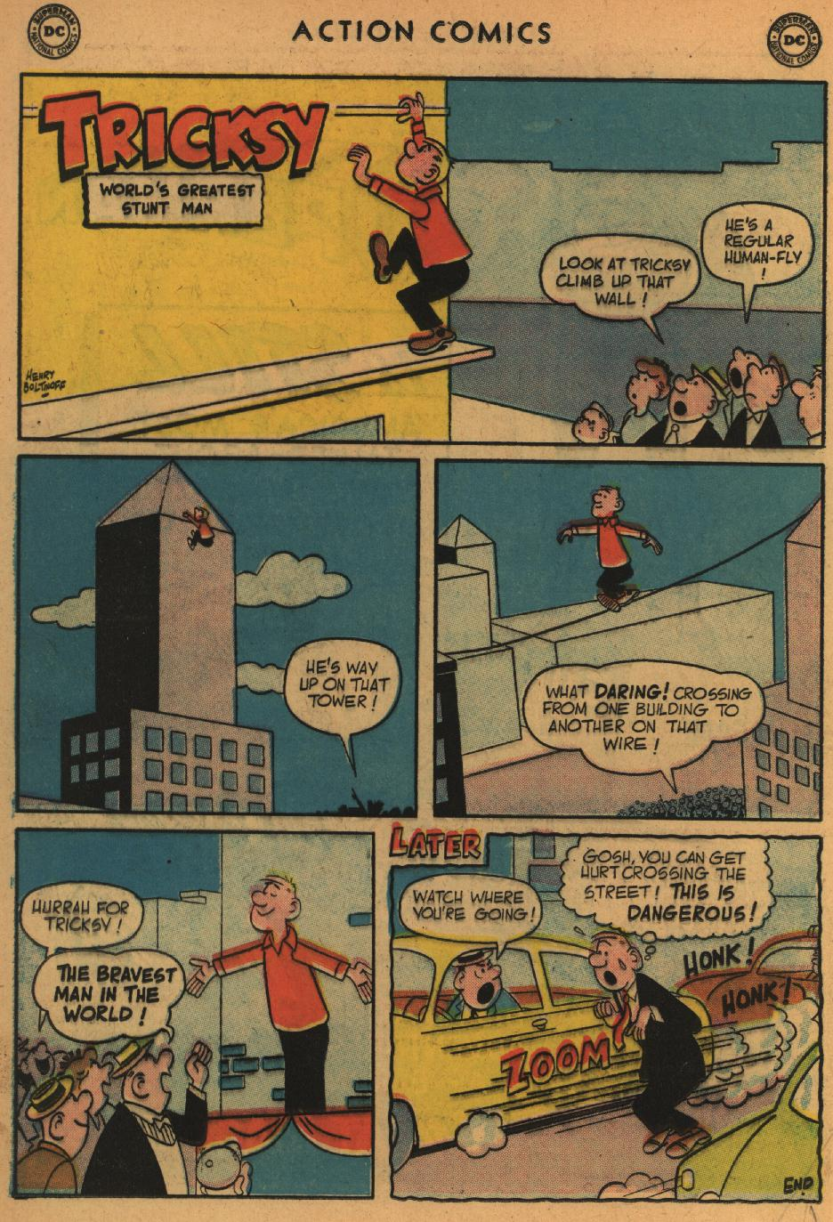 Read online Action Comics (1938) comic -  Issue #235 - 16