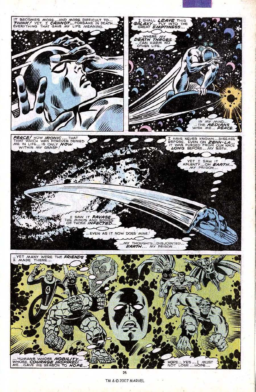 Read online Silver Surfer (1987) comic -  Issue #32 - 27