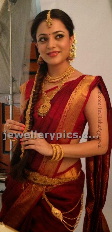 Actress Nisha Agarwal Jewellery Ad Photos Latest