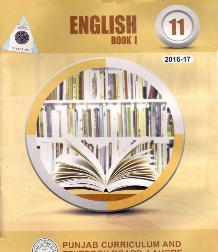 11 Class English Book 1(1st year,textbook,FSC/ICS,F A,ICOM