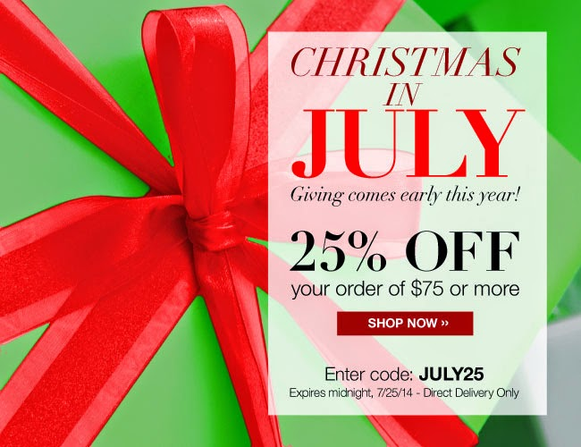 Avon Christmas in July - Avon Catalog - beautywithmary.com