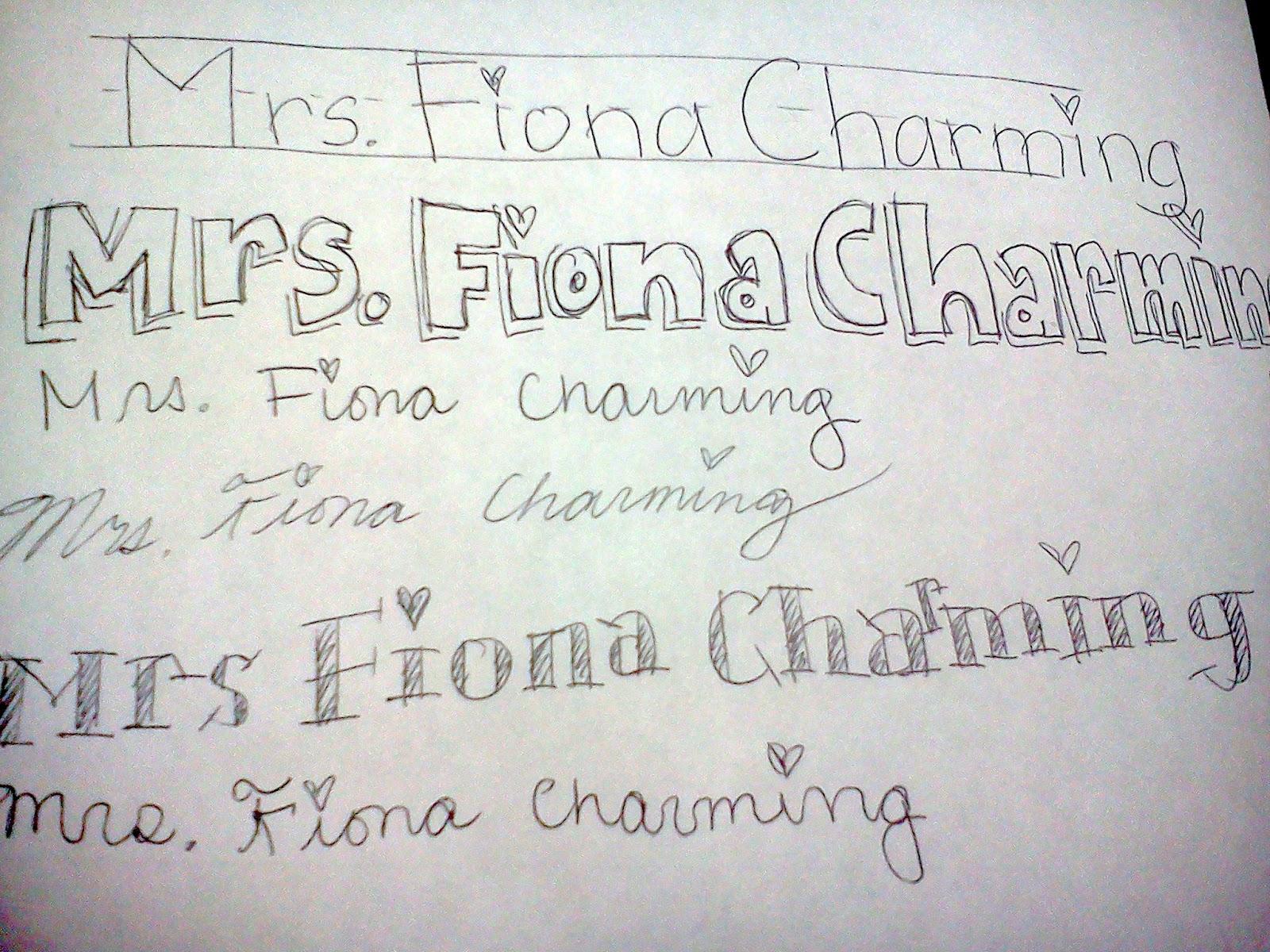 Mrs. Fiona Charming