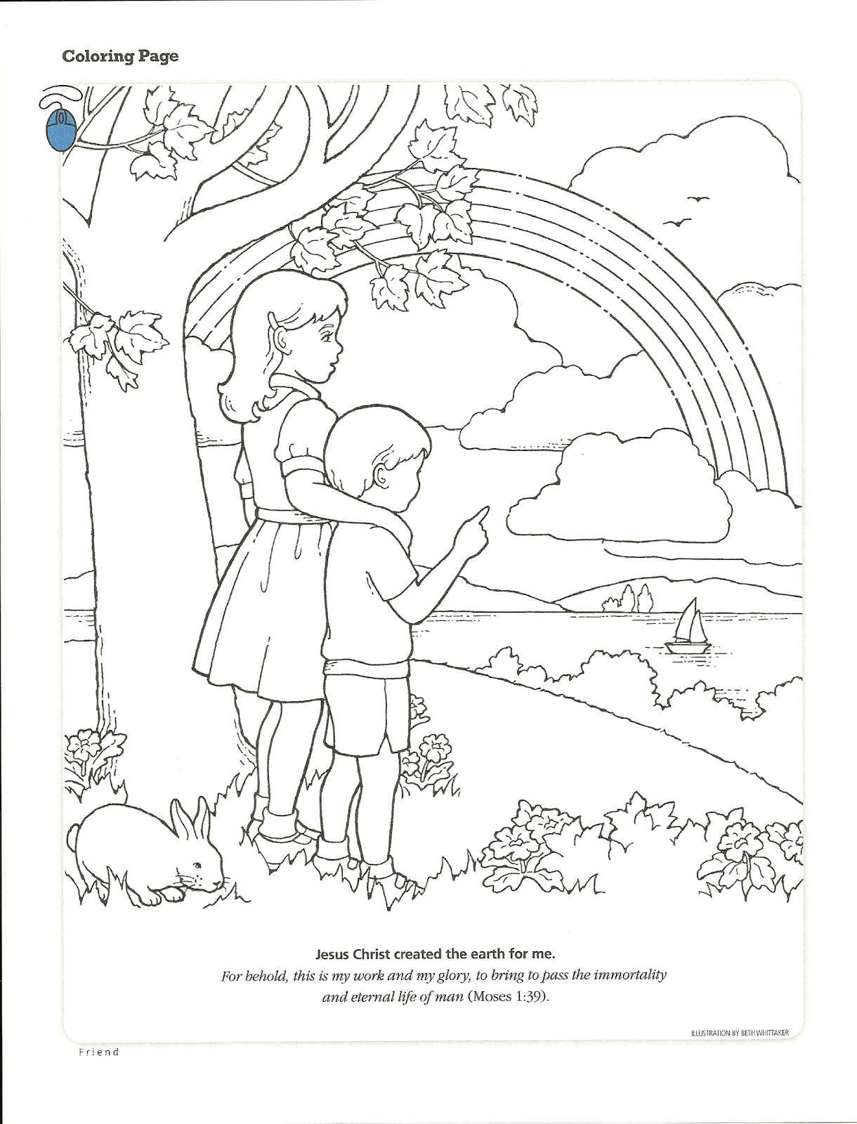 follow jesus coloring pages - photo#22
