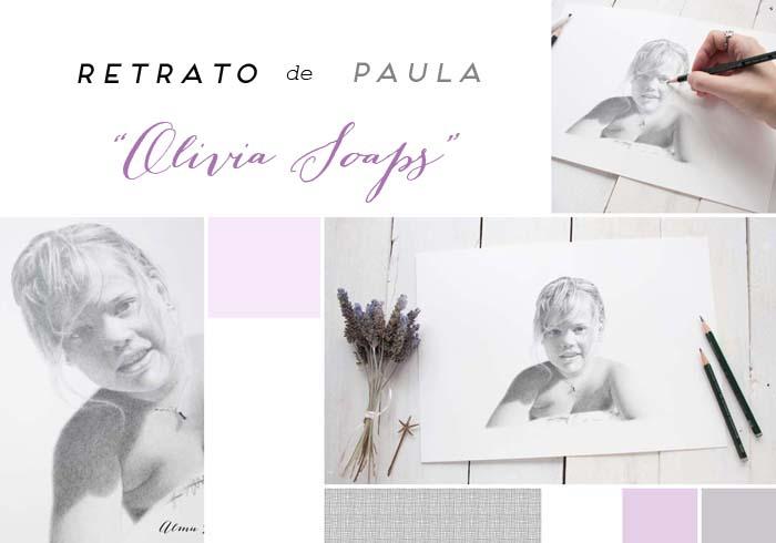 "Retrato de Paula ""Olivia Soaps"""