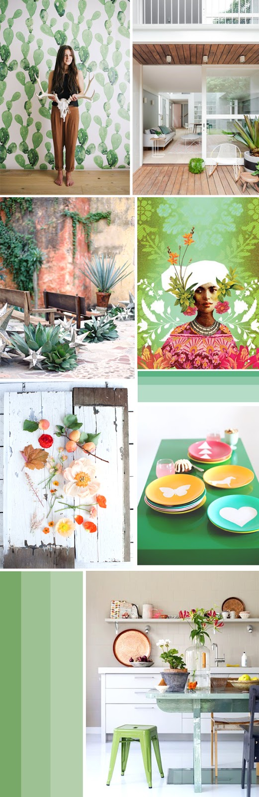 Moodboard for a Green!