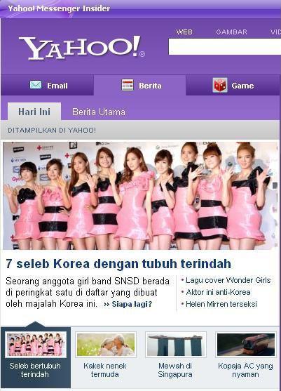Tips Langsing Sehat Ala Girls Generation (SNSD)