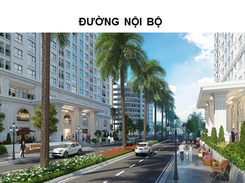 Đại lộ trung tâm dự án ECO LAKE VIEW