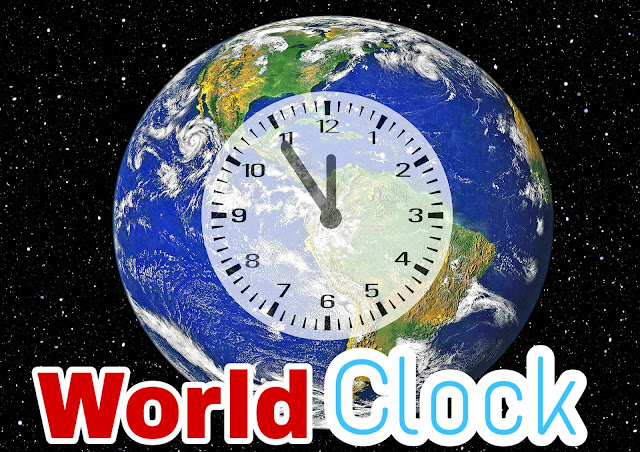How know Global time by World Clock | World time zones converter for smartphones