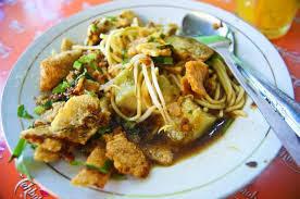 Kuliner Mie Kropyok Pak Dhuwur Semarang