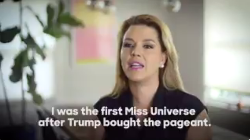 Former Miss universe who Donald Trump allegedly called 'Miss Piggy' and 'Miss Housekeeping' speaks out (video)