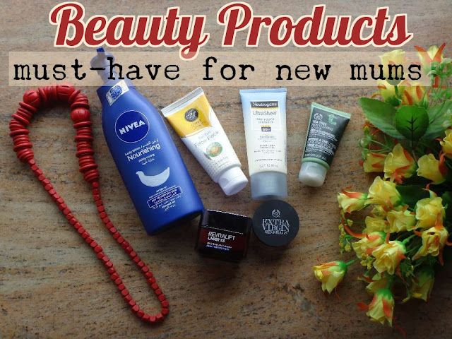 Beauty Products for New Mothers
