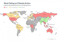 Click enlarged image to jump to your region: United States | Canada | EU | Australia | Russia | India | China | Amazon | Southeast Asia | Congo Basinn(Credit: climatecentral.org) Click to Enlarge.