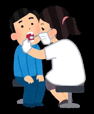 歯科検診のイラスト