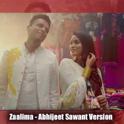 Zaalima Song Lyrics From Raees - Abhijeet Sawant Version