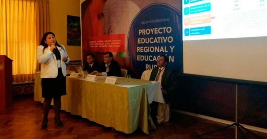 DRELM: Directora Miranda participó en Taller Interregional PER en Ayacucho - www.drelm.gob.pe