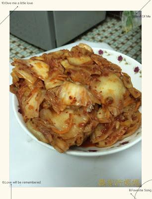 口感十分滑順夠味的韓式泡菜