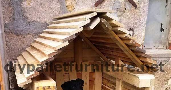 Mueblesdepaletsnet La casita para perro con palets de Manou