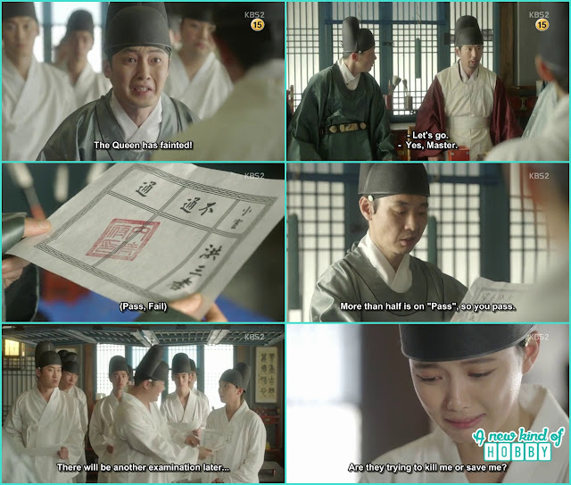 ra On pass the 1st test for Eunch - Love in the Moonlight - Episode 2 Review