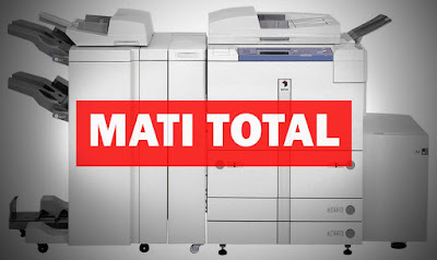 Cara Memperbaiki mesin fotocopy mati mendadak