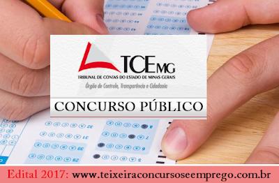 Apostila concurso Tribunal de Contas MG 2017 - Analista de Controle Externo do TCE MG,