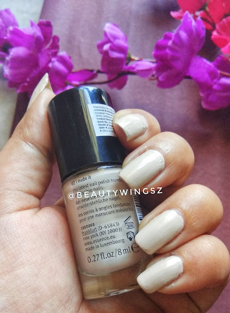 Essence I Love Trends Nail Polish Review -02 I nude it