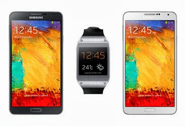 Samsung Galaxy Note 3 and Gear Now Available At Sprint And