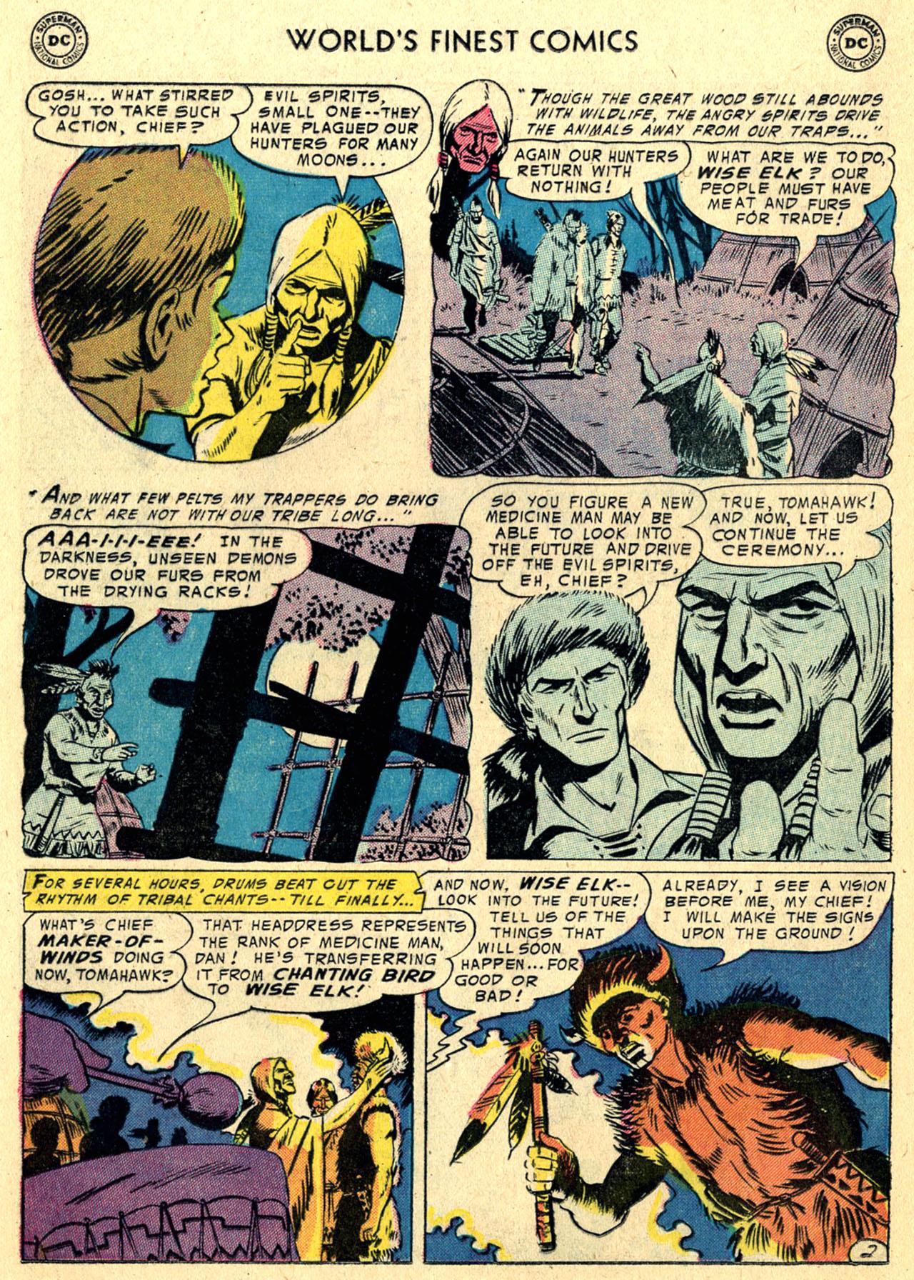 Read online World's Finest Comics comic -  Issue #82 - 16