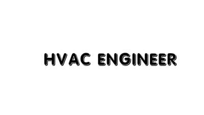 Hvac Engineer