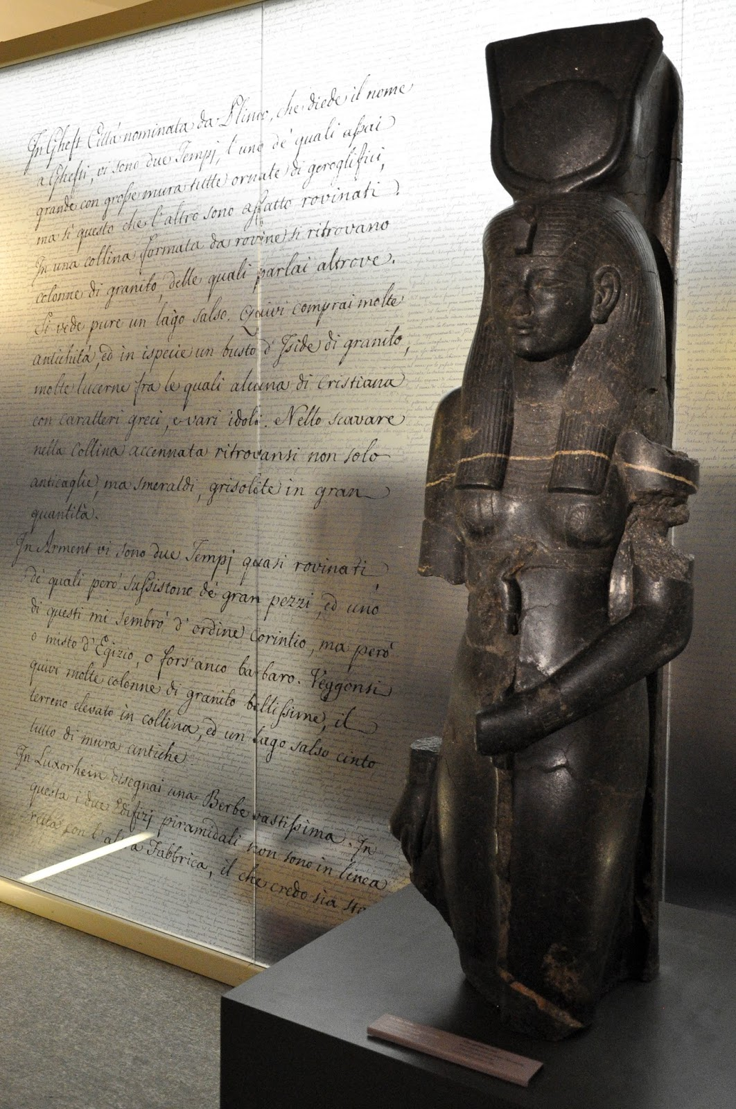 Statue, Egyptian Museum, Turin, Italy