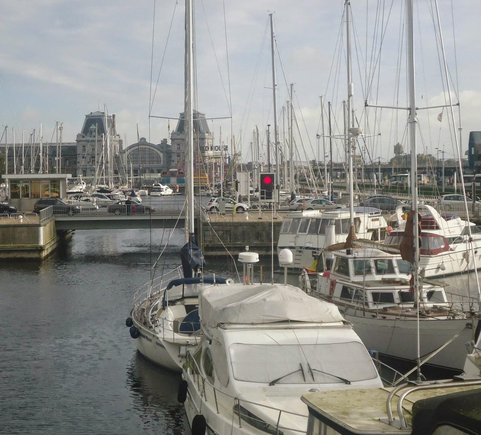 Harbour Ostend Belgium