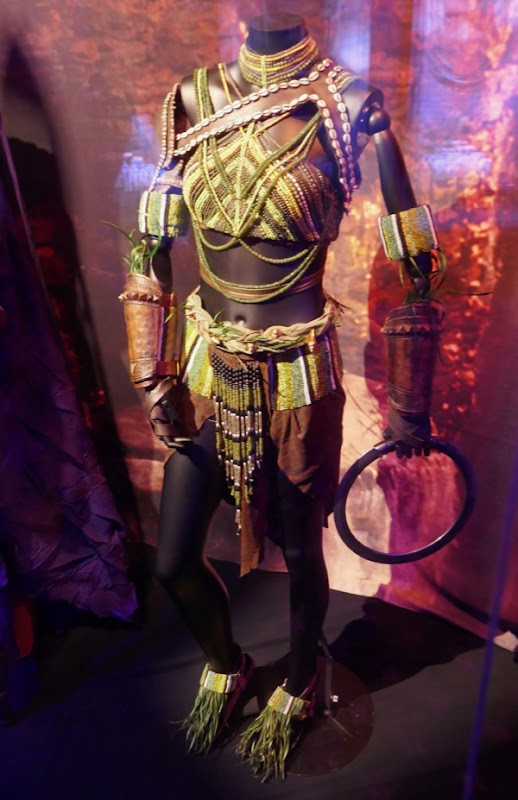 Black Panther Nakia ceremonial costume