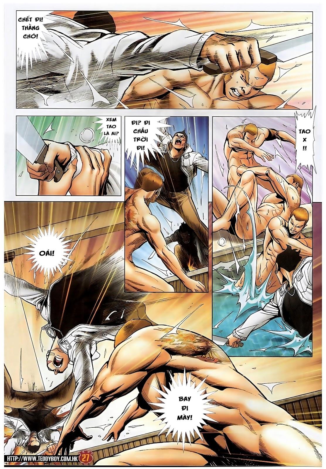 Người Trong Giang Hồ - Chapter 1570: Tắm máu sauna - Pic 23