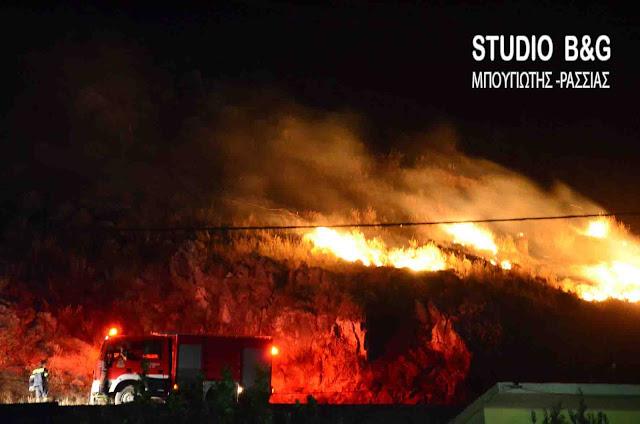 33 φωτιές σε ένα 24ωρο - Υψηλός σήμερα ο κίνδυνος πυρκαγιάς και στην Αργολίδα