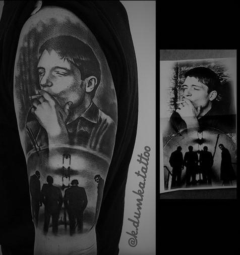 Isolations Tatuaże Joy Division Mieć Czy Nie Mieć Oto
