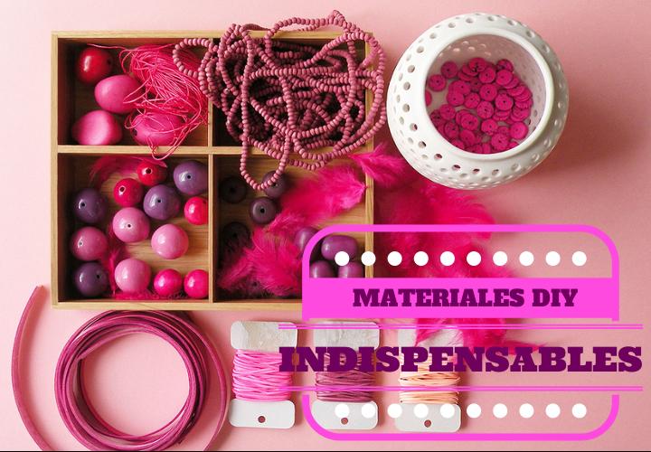 este post te he preparado un recopilatorio de materiales indispensables y básicos que yo utilizo y no puede faltar en una casa diyera.