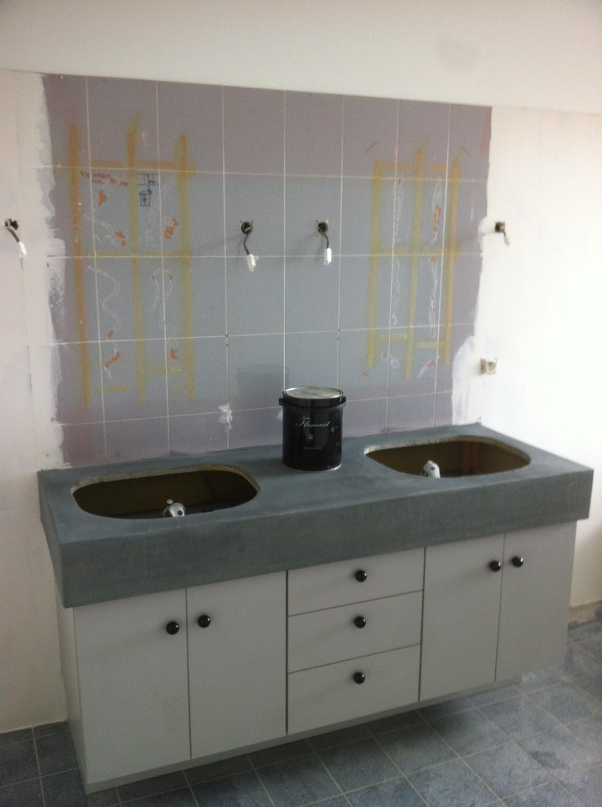 architecture d 39 int rieur salle de bain ann es 70. Black Bedroom Furniture Sets. Home Design Ideas