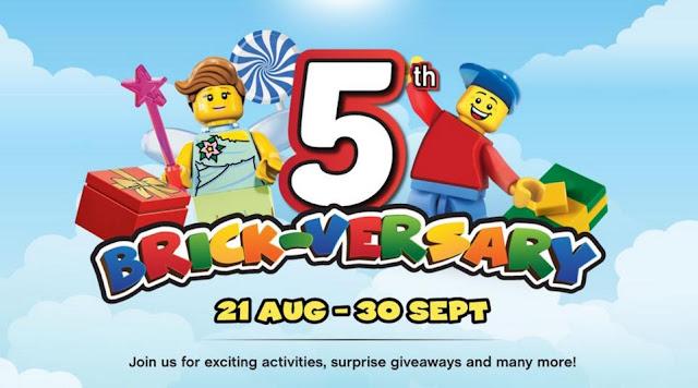 5th Brick-Versary LEGOLAND Malaysia