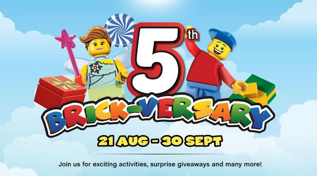 5th Brick-Versary LEGOLAND Malaysia Ticket Price