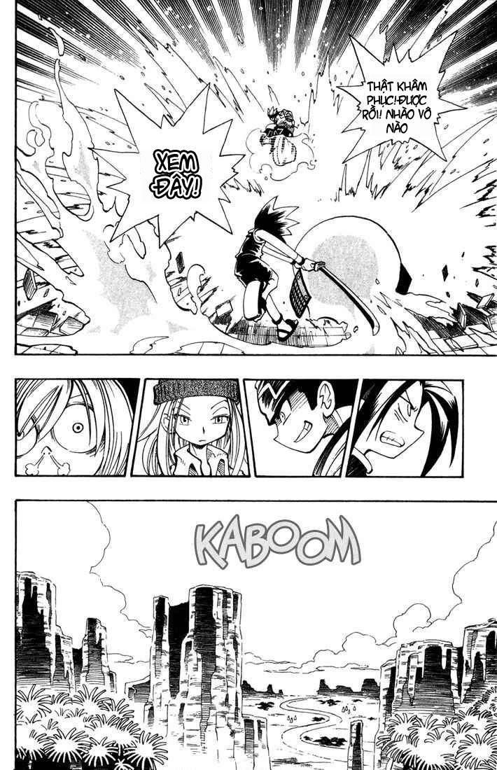 Shaman King [Vua pháp thuật] chap 37 trang 9