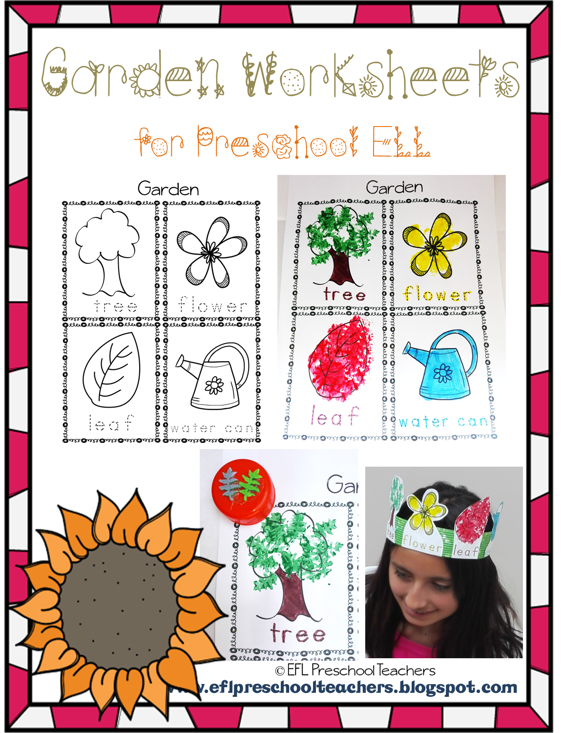 Garden Worksheet Preschool
