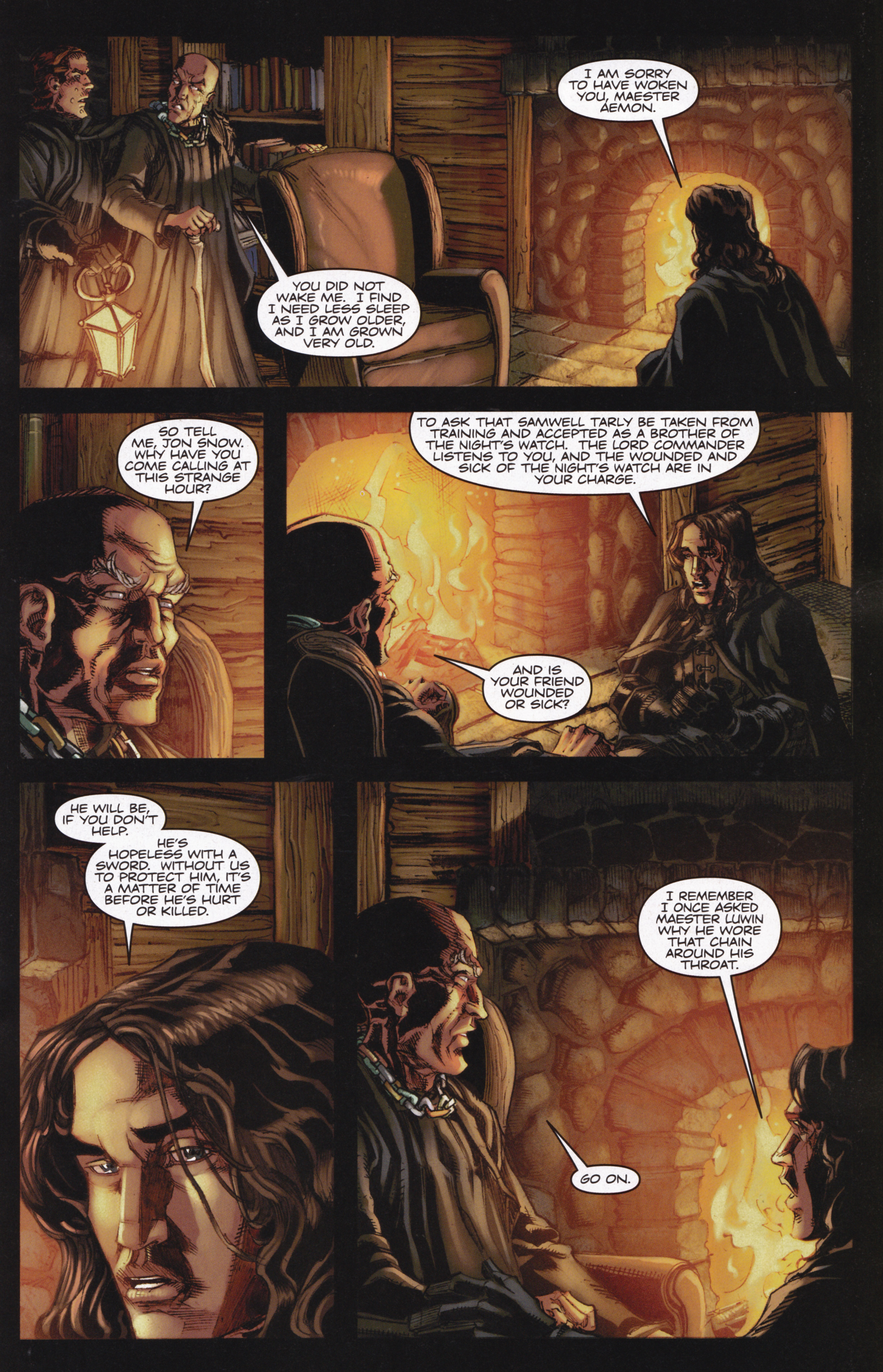Read online A Game Of Thrones comic -  Issue #13 - 17