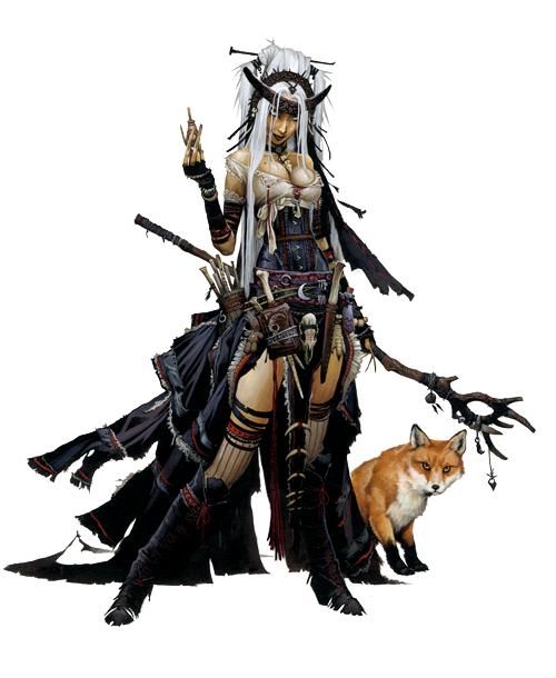 The Other Side blog: Feiya, Pathfinder Iconic Witch