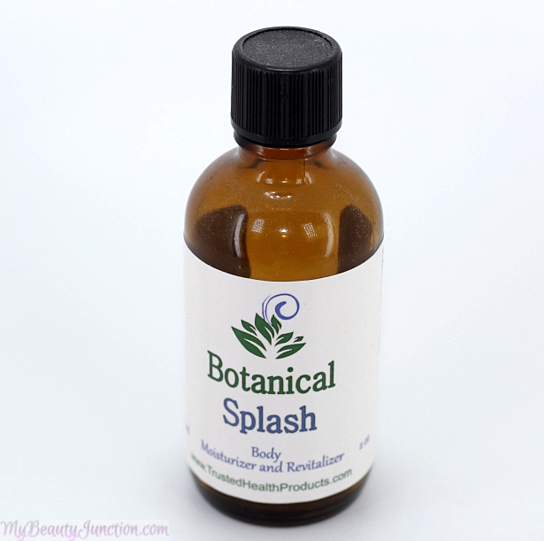 Botanical Splash natural body moisturiser
