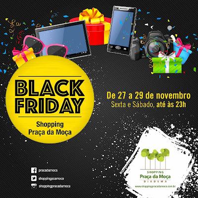 Muita variedade e descontos com grande força competitiva é o que aguarda o  consumidor no Shopping Praça da Moça durante a Black Friday. 53d747dc4c