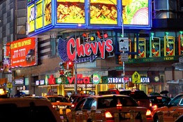Chevy's restaurant Times Square