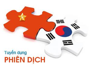 phiên dịch tiếng Hàn