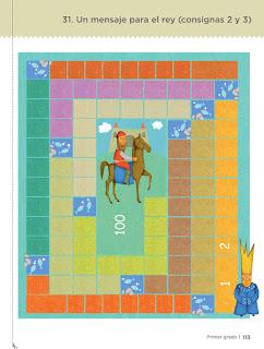 Un mensaje para el rey pagina 113 desafíos matemáticos tablero de juego para imprimir