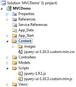 jquery javascript files required for implementing autocomplete feature in mvc