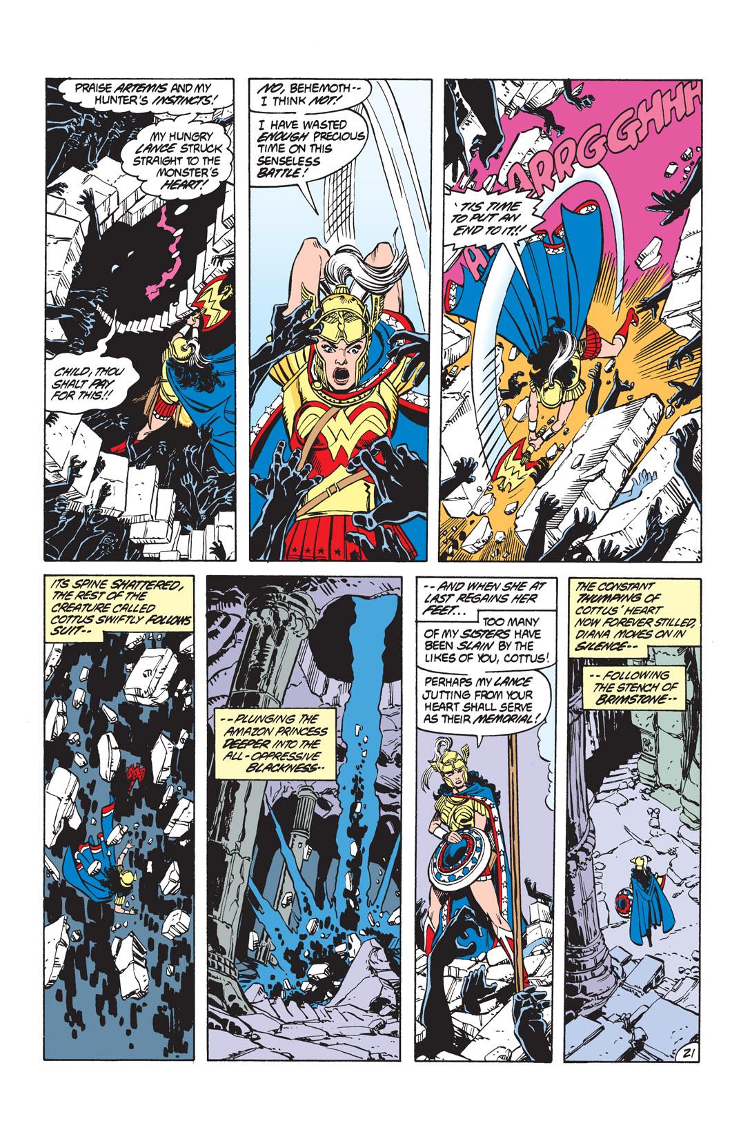 Read online Wonder Woman (1987) comic -  Issue #10 - 23